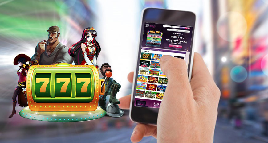 Enjoy Free Slot Games on your smart phone at 123 Spins