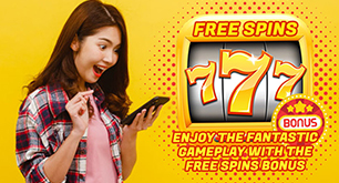 Enjoy the Fantastic Gameplay with the Free Spins Bonus