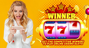 Get the Competitive Winning to Play Online Casino Slots