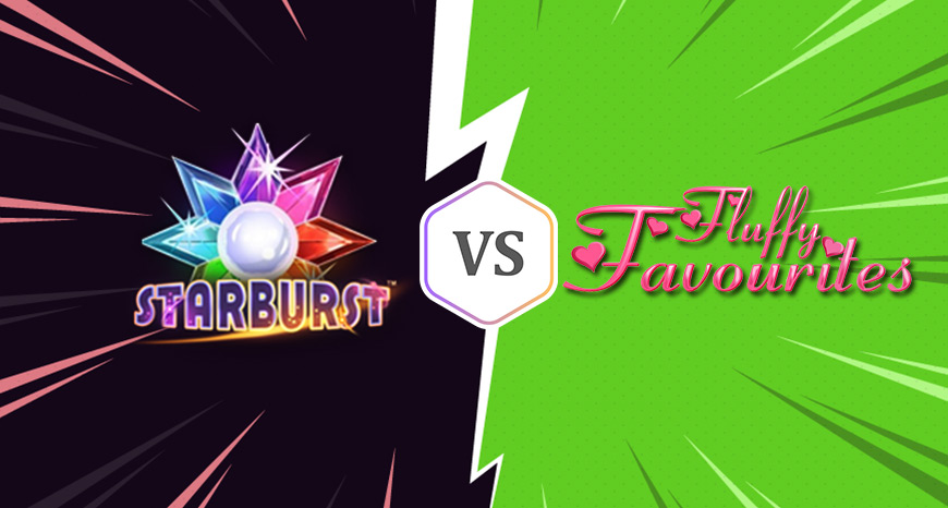 Which is the best free spins slots starburst or Fluffy Favourites?